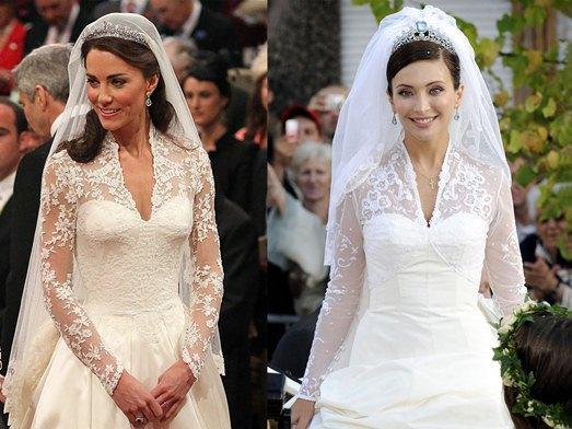 В чужом свадебном платье примета