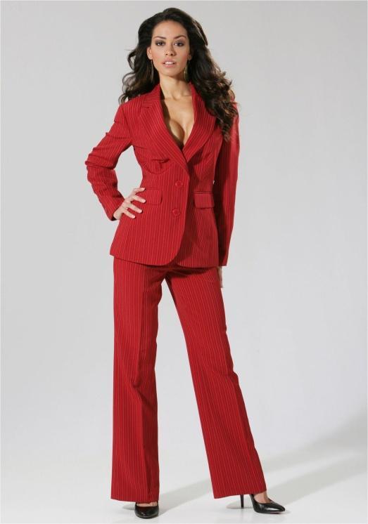 деловой костюм женский брючный фото