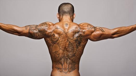 Сексуальные мужские тату