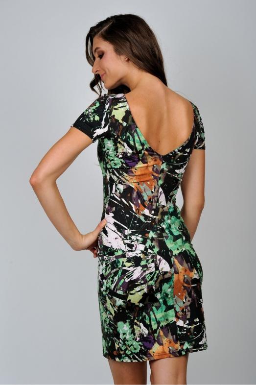 Фото красивых девушек со спины в платье