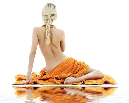фото со спины (сзади) блондинок девушек 4