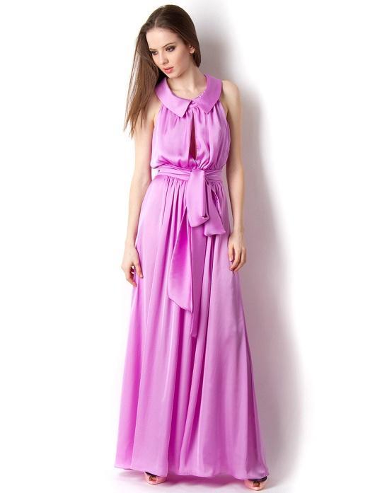 Шелковые платья каталог