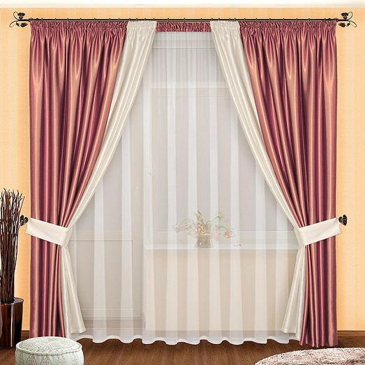 Как своими руками оформить шторы в
