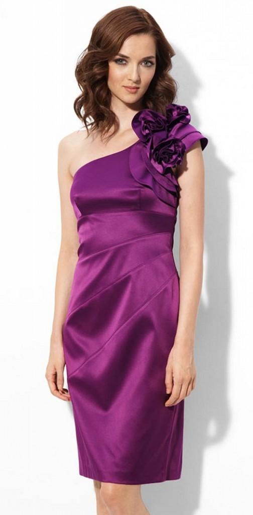 Фото разноцветных коктейльных платьев