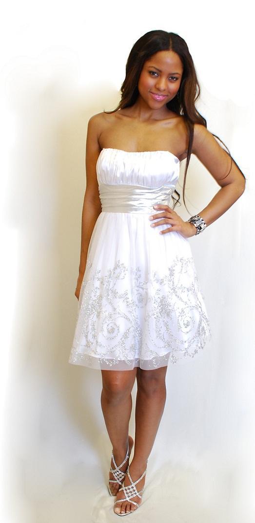 Смотреть белых платьев