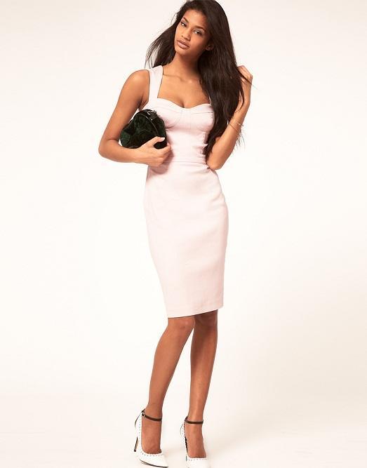 белое платье классическое фото