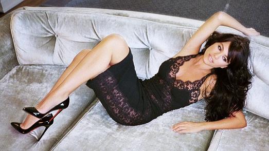 Видео весерном платье сексуальна девушка