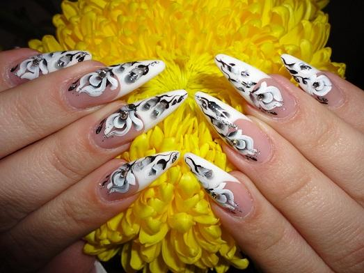 дизайн ногтей в домашних условиях фото
