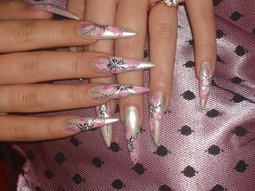 фото рисунки на ногтях