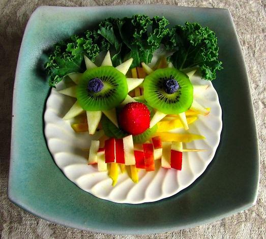 Украшение блюд ребенку день рождения 3