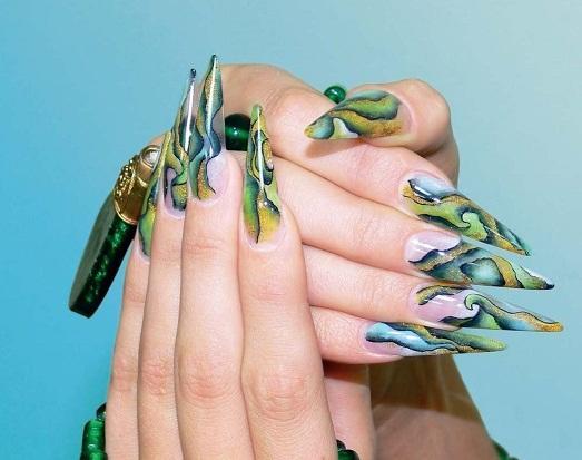 красивые рисунки на ногтях фото