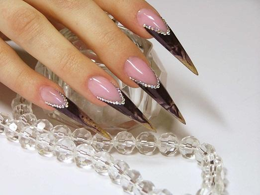 Как сделать ногти прозрачными в домашний условиях
