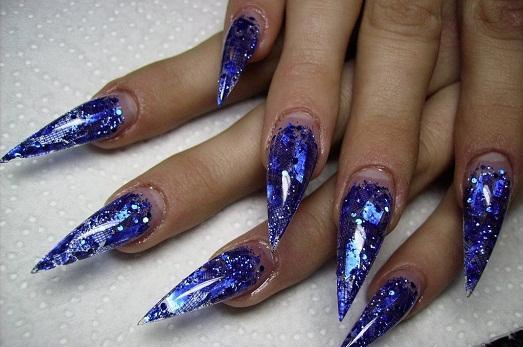 острых ногтей дизайн фото