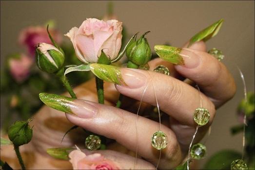рисунки на ногтях дома своими руками фото