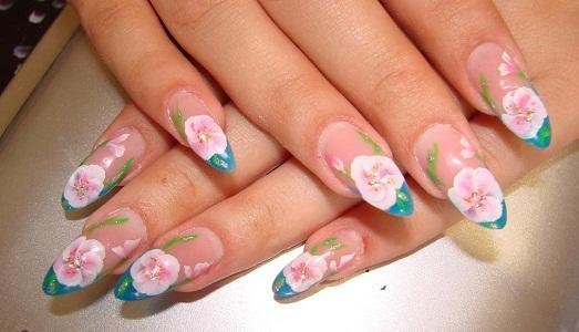 рисунки на ногтях фото