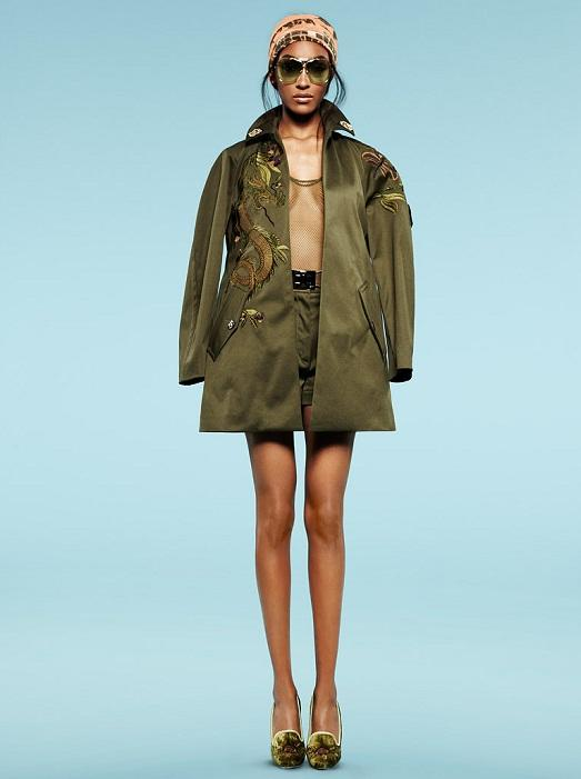 весенние куртки сафари фото