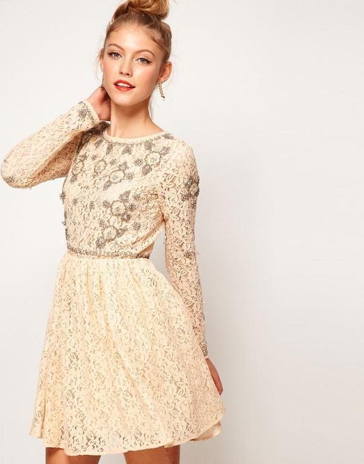 платья в пол для подружек невесты