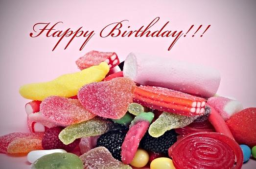 Поздравления с днём рождения с подарками и шутки 60