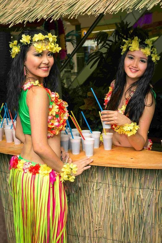 Атрибуты на гавайскую вечеринку своими руками фото 660
