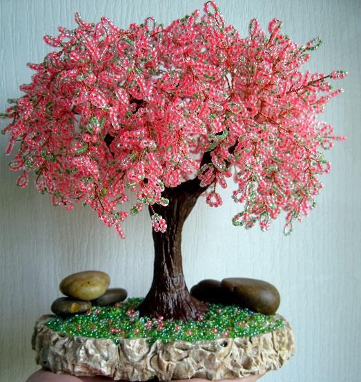 бисерные деревья,