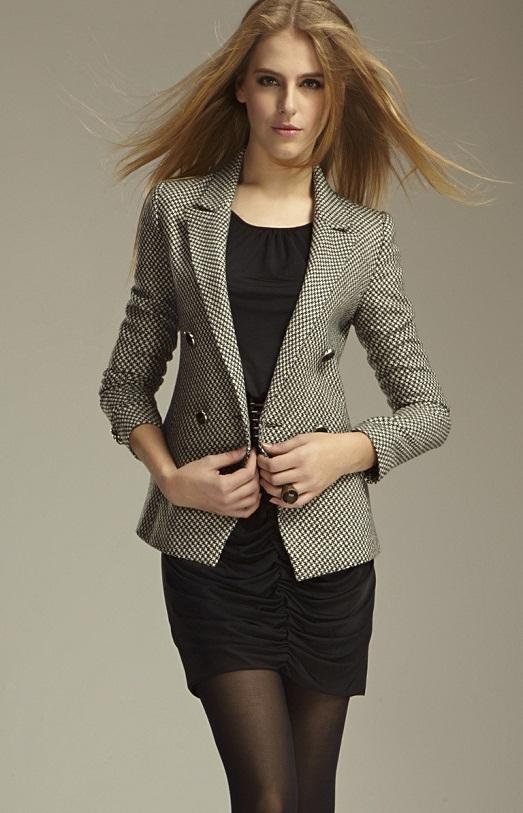 С чем носить модный пиджак фото