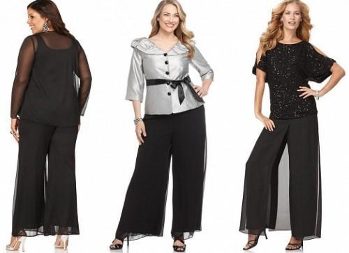Брюки Для Полных Модные С Доставкой