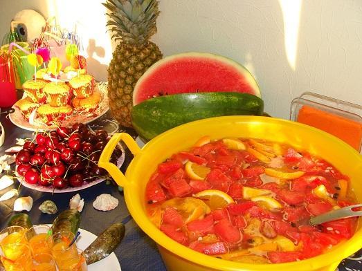 Гавайские праздники. Гавайская вечеринка. Гавайская магия. Гаваи ( кухня, танцы, мода ). - Страница 2 Zakuski-dlya-gavayskoy-vecherinki-foto