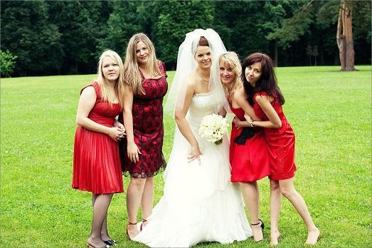 Подружки невесты сколько должно быть