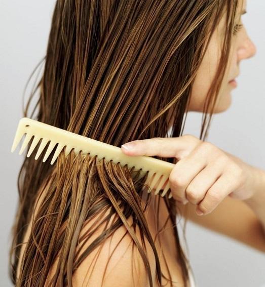 Маска для волос из меда против сечения