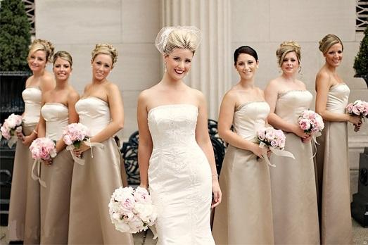 Фотосессия с подружками невесты