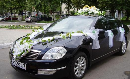 как сделать своими руками украшение на машину на свадьбу