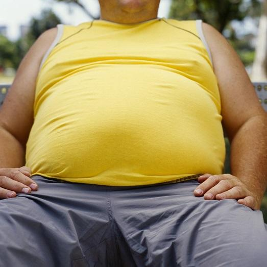 почему жира живот большой