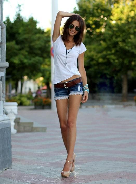 Как сделать шорты в домашних условиях из джинсов