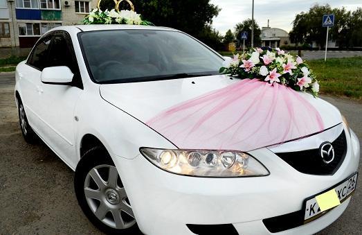 как своими руками сделать украшение для свадебных машин