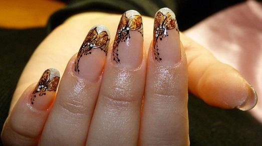 фото самых красивых нарощенных ногтей