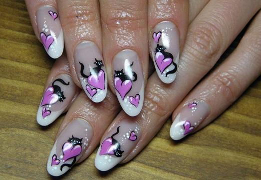 красивый дизайн ногтей 2013-2014 году