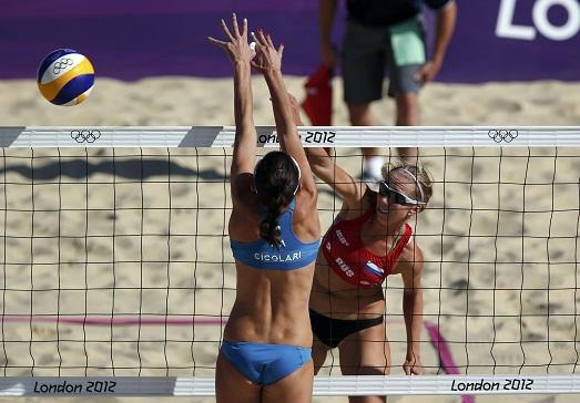 Девушки волейболистки