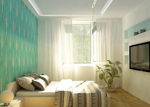 Дизайн спальни небольшого размера фото