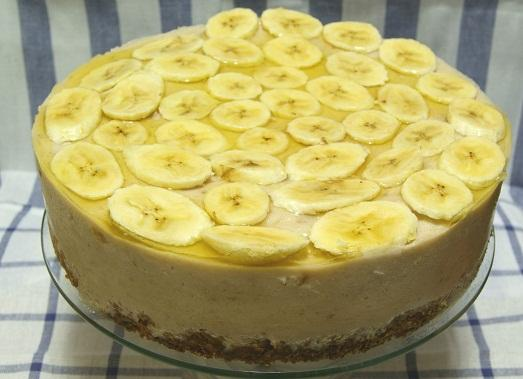как приготовить банановый торт дома