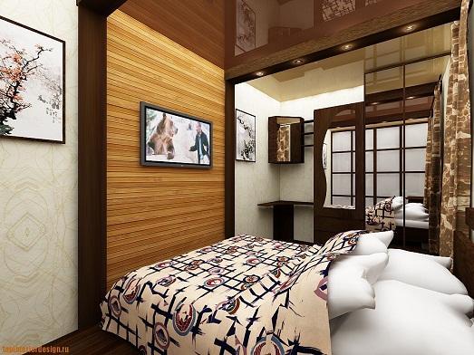 Оригинальная спальня фото