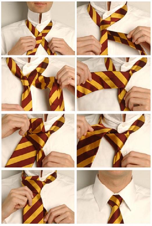 Разные узлы для галстука