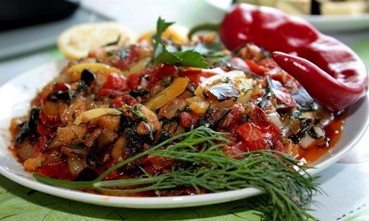 Рагу из кабачков и баклажанов рецепт с фото в духовке