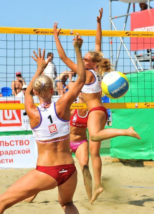 Женский спорт красивый