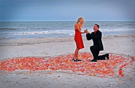 100 способов как сделать красивое предложение руки и сердца 71