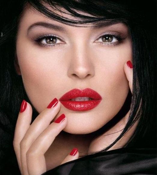 как сделать макияж брюнетке фото