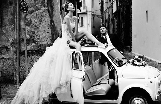 фото ретро свадьба