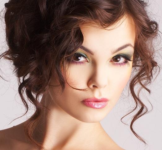 макияж для брюнетки фото