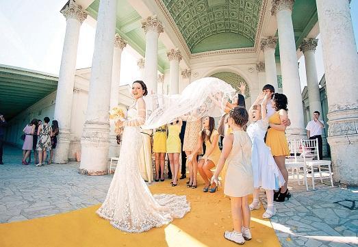 Свадебная церемония за границей фото