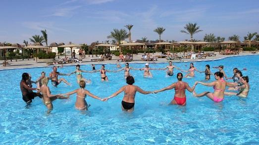 упражнения в воде для похудения фото