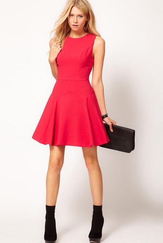 Аксессуары для красного платья.